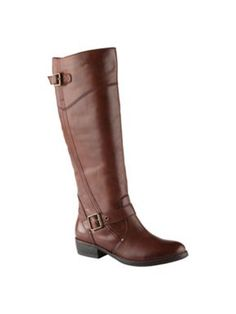 Aldo Gricia Tall Flat Boots Cognac - House of Fraser