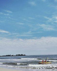 Cuacanya cerah secerah harapan #Jepara468.  Foto: @annisa.ines Lokasi: Pantai Bondo  #explorebondo #visitjepara #visitjateng #jatenggayeng #kompasnusantara