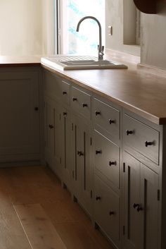 Shaker Style Kitchens Cabinets Trends, Ideas How to Shaker Style Kitchens Cabinets Trends, Ideas How to Design Timeless shaker kitchen painted in our bespoke colour Orchid with Silestone Lagoon work surfaces. Kitchen Larder Cupboard, Walnut Kitchen Cabinets, Shaker Style Kitchen Cabinets, Painting Kitchen Cabinets White, Kitchen Cabinet Drawers, Shaker Style Kitchens, Kitchen Cabinet Styles, Shaker Kitchen, Shaker Cabinets