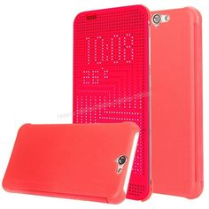 HTC One A9 Dot view Akıllı Kılıf Kırmızı -  - Price : TL33.90. Buy now at http://www.teleplus.com.tr/index.php/htc-one-a9-dot-view-akilli-kilif-kirmizi.html