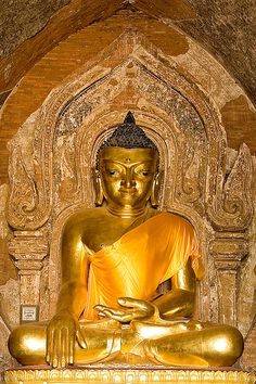 Buddha at Htilo Minlo Temple, Bagan  --- One of the many beautiful and amazing Buddhas in Bagan, Myanmar ( Burma ).  ---- by YYZDez, via Flickr