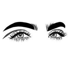eyes, art, and outlines image