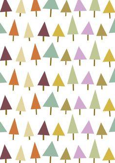 retro behangpapier triangle - Google zoeken