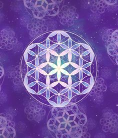 I like the idea of that inner part--that's brighter than the rest // mandala, flower of life, sacred geometry, pi...