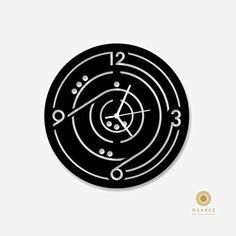 Game Art Modern Wall Clock Design Osaree