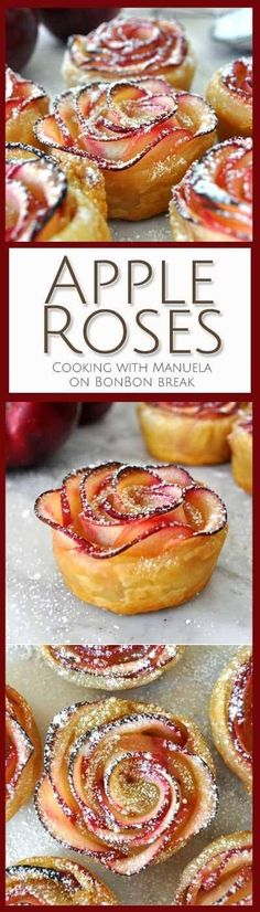 These apple roses are simple enough to make on a weeknight but they're impressive enough to serve at the end of a special meal.