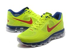 Ha Fantastico Nike Air Max Trainer 1.3 Breathe Verde Giallo Rosso Bianco Addetramento Scarpe - EUR57.00 Nel Negozio Online