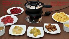 Russian Cuisine - Beef Stroganoff Fondue