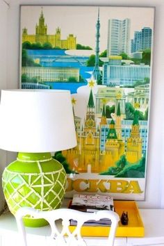 The Decorista-Domestic Bliss: secret of domestic bliss #44...big, bold and beautiful lamps