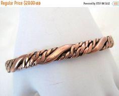 Copper Bracelet Braided Copper Cuff