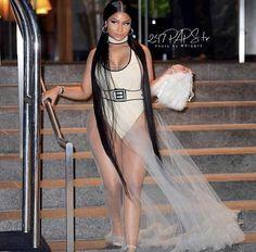 b57e004829 Nicki Minaj VMAs 2018 Nicki Minaj Costume