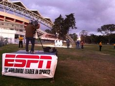 Cobertura Copa CentroAmericana  Desde afuera del Estadio Nacional en Costa Rica