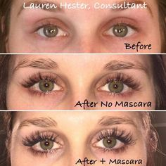 "Oh my goodness look at fellow consultant, Lauren's, results from Lash Boost!! ""I am so excited to share my personal 12 week results of Rodan + Field's Lash Boost!! I have never had long lashes before and felt the need to put on mascara everyday. Now, thanks to Lash Boost, I have longer, darker, and fuller looking lashes, allowing me to walk out the door Mascara-free with confidence! Those of you wondering if this product really works, the answer is YES! The results are real and they are ama"