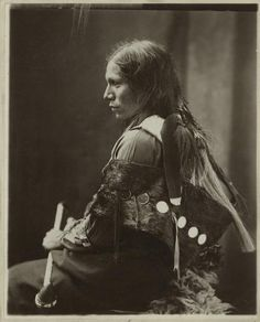 Sioux Indian Man, 1890s.