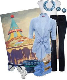 """""""A Day At The Fair"""" by rooney-chu on Polyvore"""