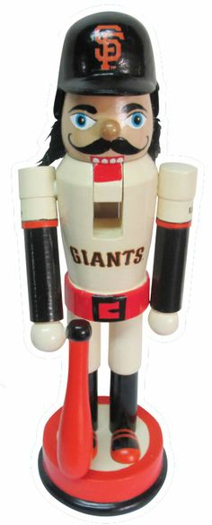 giants holiday nutcracker included with multi game pack purchase