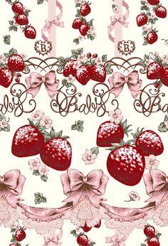 Baby The Stars Shine Bright :: Juicy Baby Love Love Berries Lolita Print