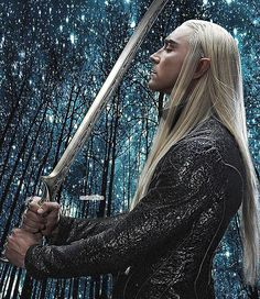 ''When you're having a normal day and thranduil suddenly blinds you with his perfection''- pinning for the comment
