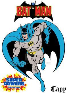 Super Powers - Batman by ElCapy on DeviantArt Batman Poster, Batman Artwork, Batman Comic Art, Batman Wallpaper, Comic Book Heroes, Comic Books Art, Batman And Batgirl, Batman 1966, Im Batman
