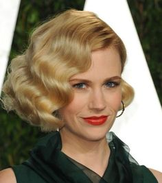Vintage Finger Wave Hairstyles to Try in 2016 | Haircuts, Hairstyles 2016 and Hair colors for short long & medium hair