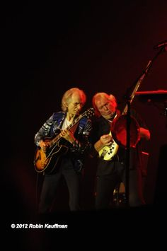 Steve Howe & Chris Squire of Yes, 2012 Jon Davison, Yes Music, Chris Squire, Alan White, Steve Howe, Psychedelic Bands, Roger Dean, Yes Band, Peter Gabriel