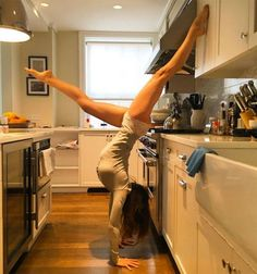 Check out these celebrities being fit and active. These women show off their flexibility with these great yoga poses. Get inspired to work out and strengthen your yoga moves.