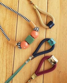 Learning how to make precious jewelry out of metals may appear like the next rational decision after mastering the basic skills. Rope Jewelry, Jewelry Logo, Textile Jewelry, Fabric Jewelry, Diy Necklace, Necklace Designs, Kawaii Jewelry, Handmade Jewelry Designs, Ceramic Jewelry