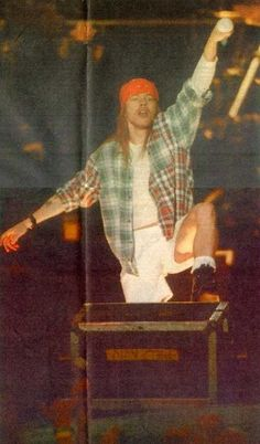 Axl Rose, Guns N' Roses - Stockholms Stadion, Stockholm, Sweden June 12th 1993