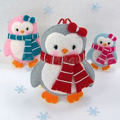 Felt Penguin Tutorial  DIY Embellishment or di CasaMagubako