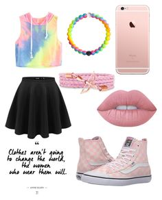 """""""💖"""" by nikkisfashion273 on Polyvore featuring Vans and Lime Crime"""