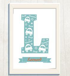 Name Art Print Digital File Personalized Kids by VeryFairyGood Name Art, Art For Kids, Nursery, Names, Printables, Art Prints, Digital, Handmade Gifts, Diy