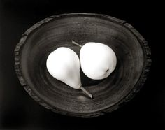 Two Pears, Cushing, Maine 1999 gelatin silver print Paul Caponigro - Peter Fetterman