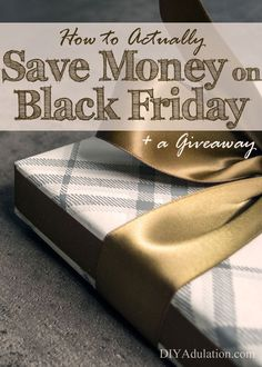Don't go into debt for Black Friday because you love a bargain. Find out how to actually save money on Black Friday and enter to win some shopping cash!