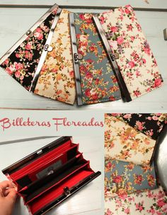 These wallets are so pretty! #handbags #clutches