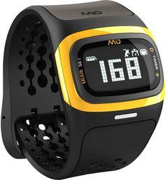 Medisana Mio Alpha 2 Hartslag Polshorloge Geel is 's werelds eerste hartslagmeter die betrouwbaar, nauwkeurig en continu bewaakt de hartslag zelfs bij de hoogste intensiteit van de inspanning - zonder borstband. Dankzij de aanpasbare hartslagzones, kunt u uw training te optimaliseren verder, en met de Bluetooth Smart (4.0)-technologie verbindt Mio ALPHA met vele fitness-apps op de iPhone en Android-apparaten.