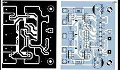 Circuit Board Design, Diy Amplifier, Circuit Diagram, Audio, Mini, Electronic Circuit, Stuff Stuff, Tecnologia