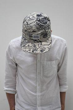 Norse Projects, Printed 5 Panel Cap #menswear #clothing #style