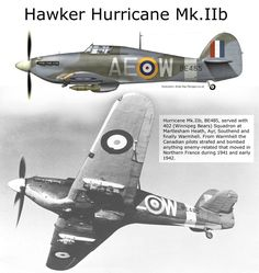 Hawker Hurricane Mk.IIb Navy Aircraft, Ww2 Aircraft, Fighter Aircraft, Military Aircraft, Fighter Jets, Hawker Tempest, Hawker Hurricane, Ww2 Planes, Battle Of Britain