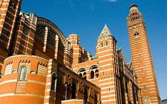You can climb the bell tower at Westminster Cathedral (by Victoria Station) for sweeping views.