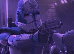 Star Wars Clone Wars, Star Wars Art, 501st Legion, Clone Trooper, Starwars, Soldiers, Universe, Darth Vader, Fandom