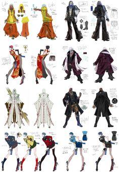 Characters Concept-Arts Bayonetta 2