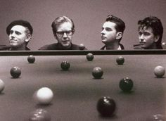 Depeche Mode + snooker