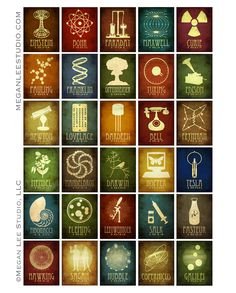 (Photo: 30 current science and astronomy designs by meganleestudio.com)  To clear up a few matters:  • The individuals included in my desig...