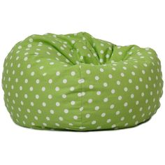 BeanSack Polka Dot Bean Bag Chair 570 ZAR Liked On Polyvore Featuring Home