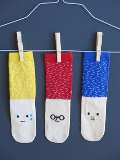 These socks are too sweet not to share. From London based brand Petites Pattes, showing at the new Cookies Show in Berlin