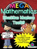 Math Bundle of templates and Blackline Masters Toolkit! Al