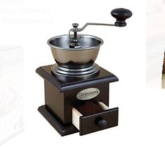 Savannah Classic Style Coffee Grinder with Adjustable Grind Settings -- Click image to review more details.