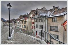 Winter in der Halden Swiss Design, Most Beautiful Cities, Switzerland, Winter, Mansions, House Styles, Projects, Beauty, Pictures