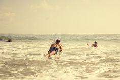 Bather Resort 2014 - Men's Surf Trunks - Surfing at the beach