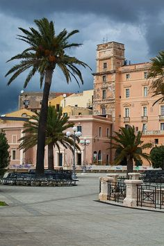 Bastione San Remy - Cagliari, Sardinia, Italy.